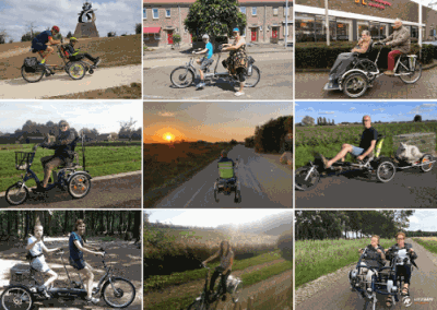 User experiences Van Raam bike users