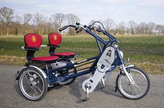Fun2Go side-by-side tandem duo bike