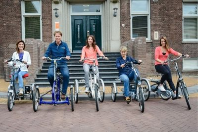 Tricycles to cycle with a disability