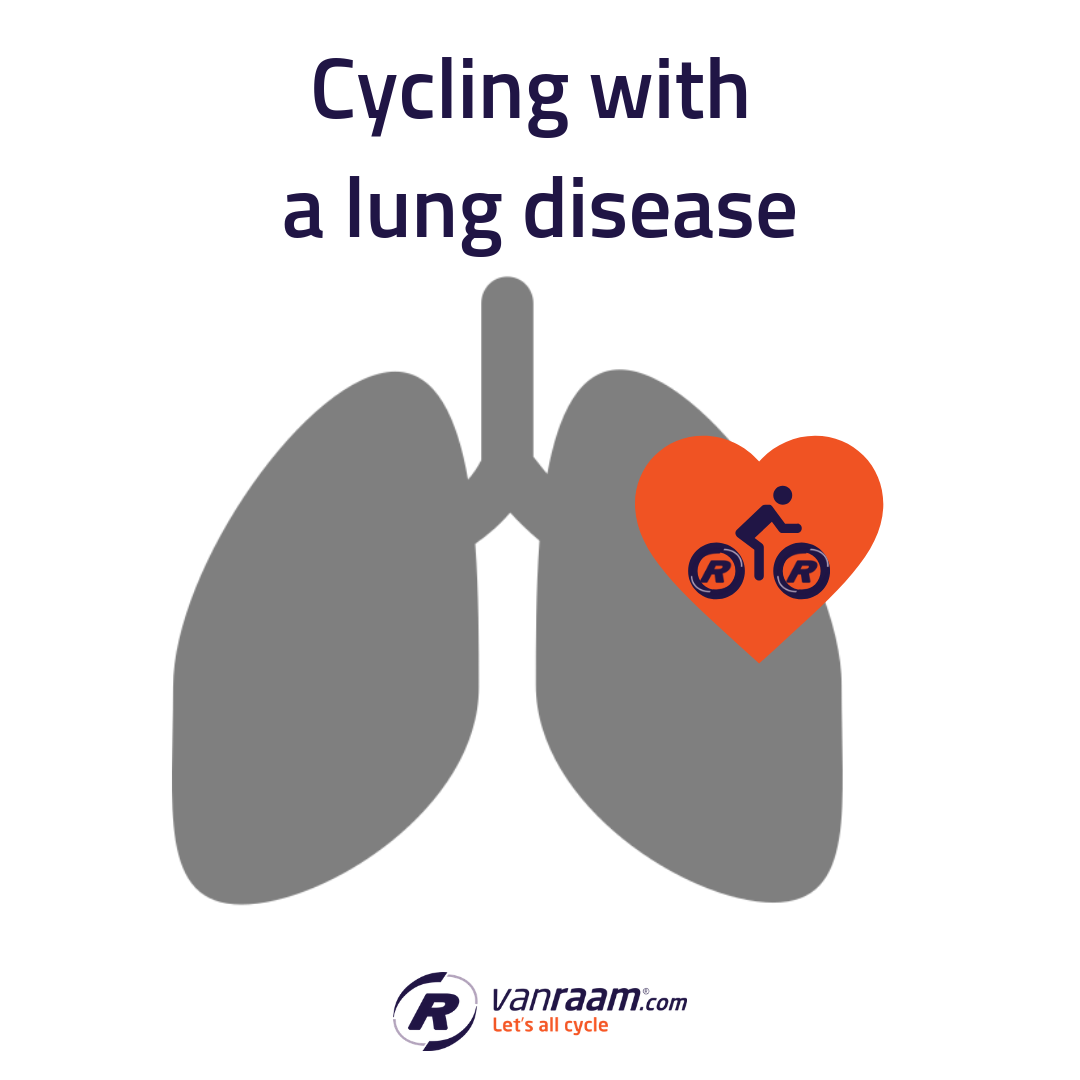 Cycling with a lung condition