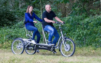 1a676cf83b0 Twinny Plus. Three-wheel tandem for adults