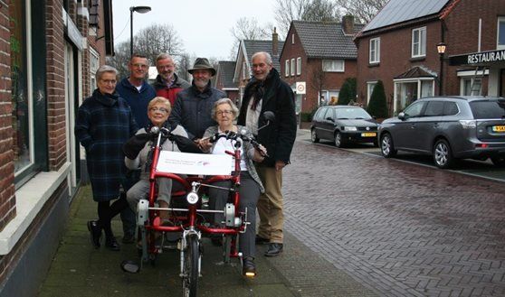 Double rider cycle for project of residential care facility