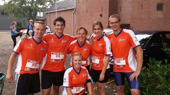 Kramp Run team Van Raam