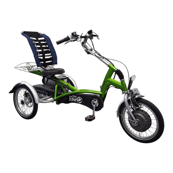 Easy Rider Junior tricycle  Silent motor