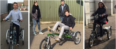 Testing tricycles