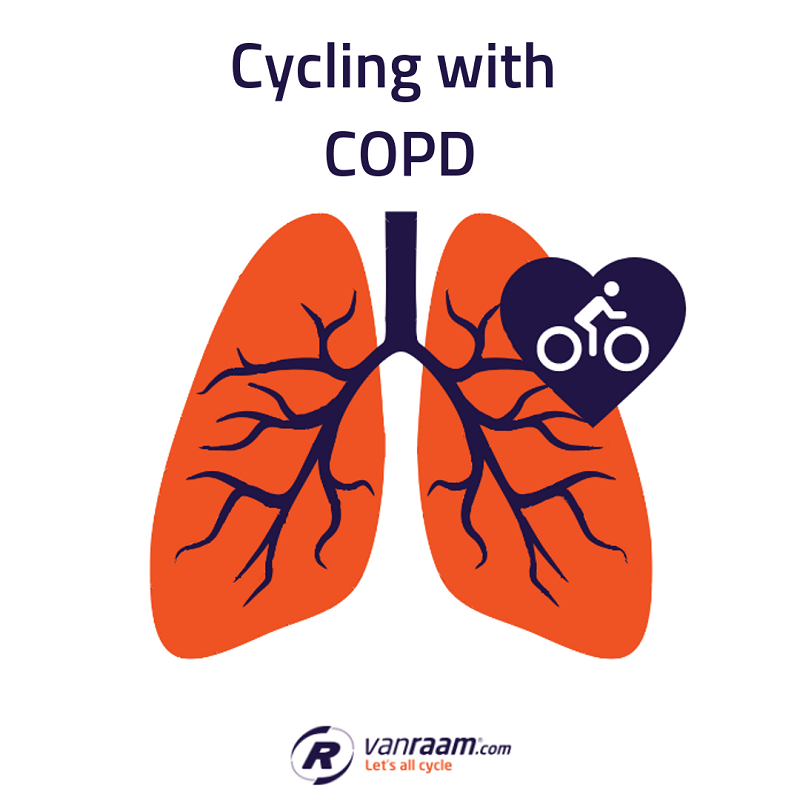 Cycling with COPD lung condition