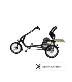 3D Tricycle Easy Rider in your room to smartphone