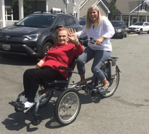 OPair Wheelchair bike by Van Raam in North America
