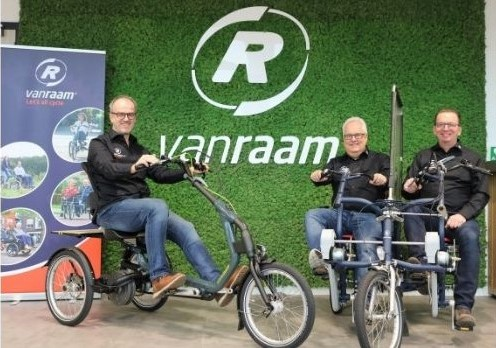 Three account managers for Van Raam in Germany