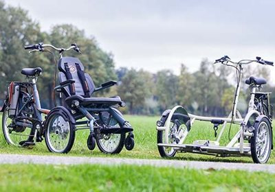 Van Raam OPair and VeloPlus tips for cycling with a wheelchair bike