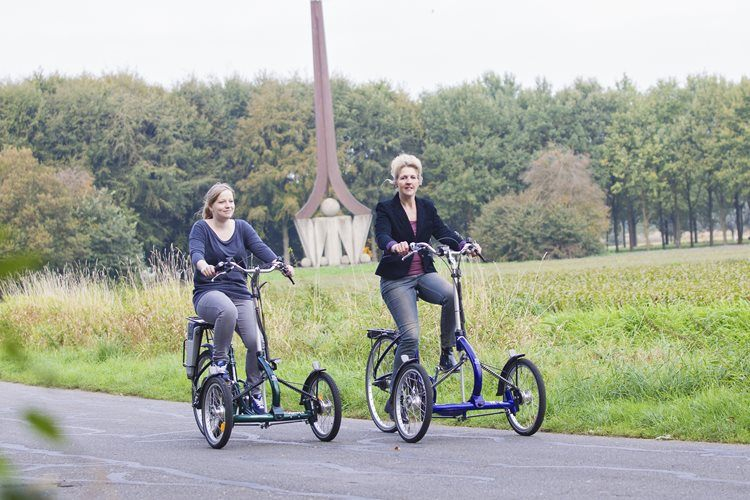 Tricycle with power assist