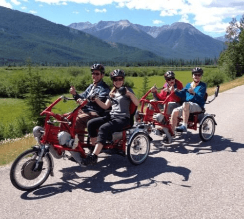 FunTrain double rider cycle in North America