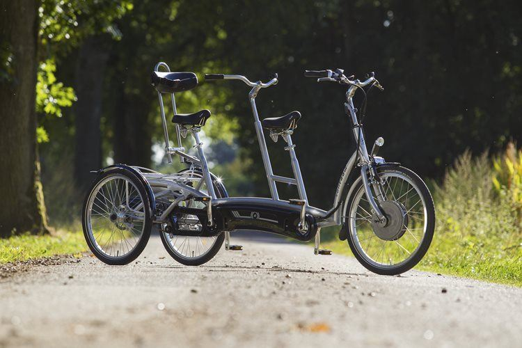 Tricycle tandem electric