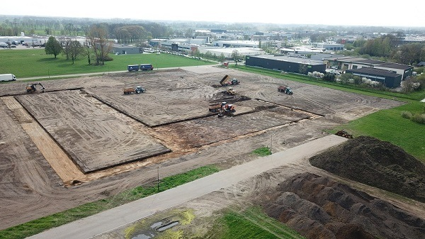 First excavations new building Van Raam