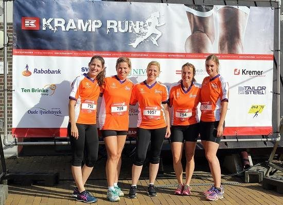 Kramp Run #TeamVanRaam (Dames) 2016