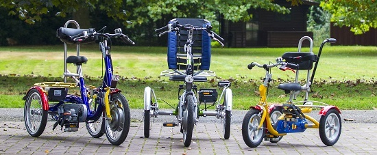 Van Raam trikes for children