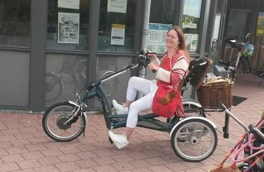 Tricycle for adults Easy Rider on holiday
