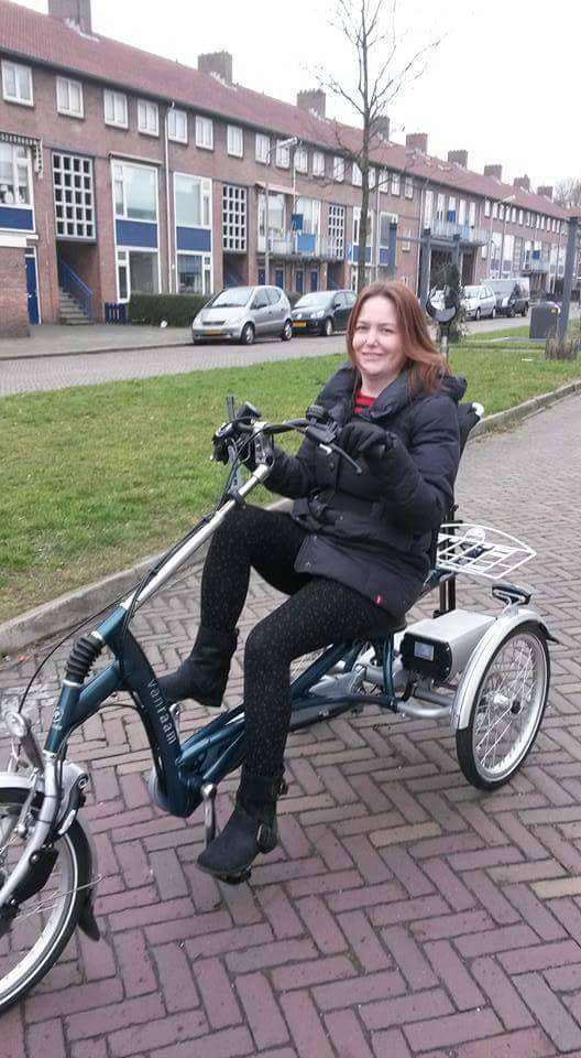 Tricycle with seat for adults user experience