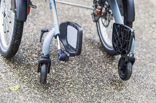 detachable frame Opair wheelchairbike