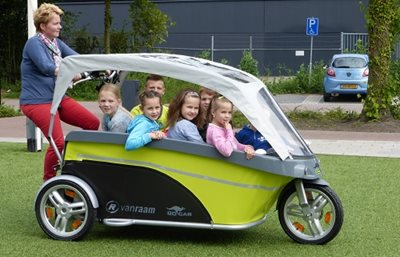 GoCab taxi bicycle for children