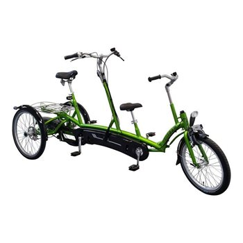Kivo Plus Parent child tricycle Van Raam