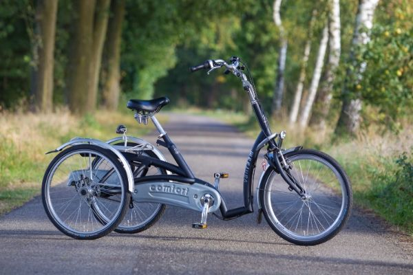 Van Raam Maxi Comfort tricycle with a low entry