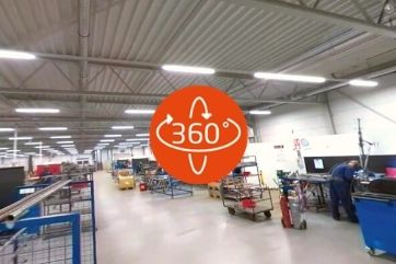 360 degree video tour of the Van Raam production