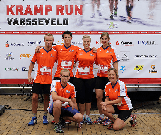 team Van Raam Kramp run 2015