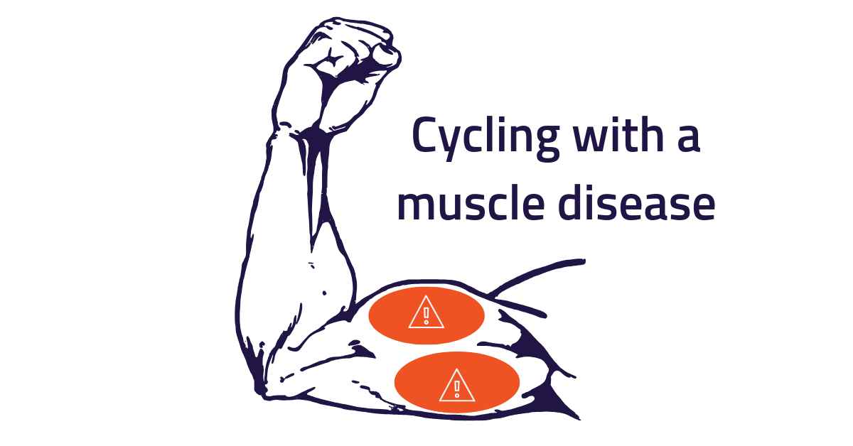 Cycling with a muscle disease