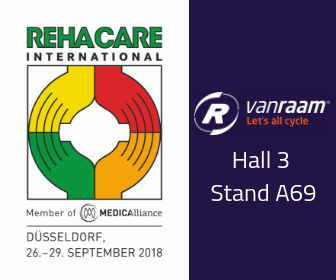 Van Raam at REHACARE 2018 Hall 3 Stand A69