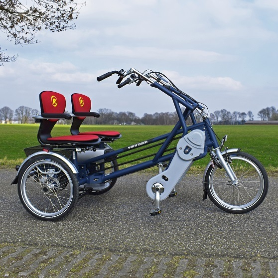 side by side tandem cycle