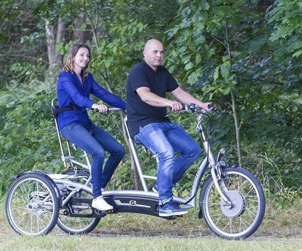Van Raam tricycle tandem Twinny Plus for people with autism