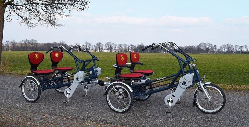 FunTrain Fahrradzug für 4 Personen   Van Raam   Van Raam