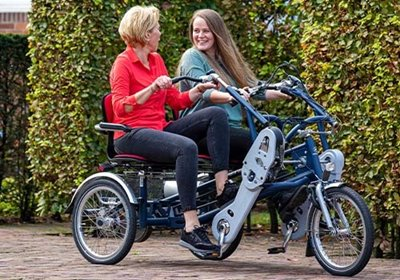 Fun2Go special needs side by side trike  Alice Holt inclusive cycling