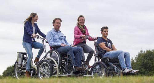 Wheelchair bikes electric