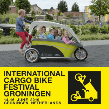 Van Raam bei internationalem Cargo Bike Festival in Groningen 2019