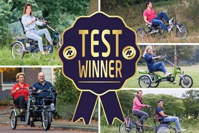 More Van Raam bikes as test winners