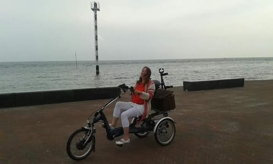 Expérience utilisateurs tricycle assis Easy Rider-Krista Pool