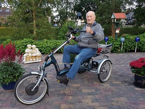 Tricycle for adults by Van Raam - review user experience Rob Berendsen