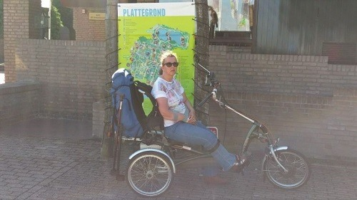 Easy Rider tricycle customer experience Sandra Zuiderwijk