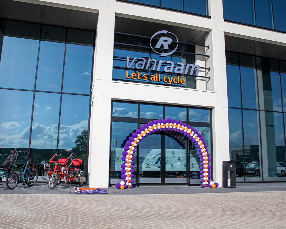 Festive Opening Van Raam new bicycle factory