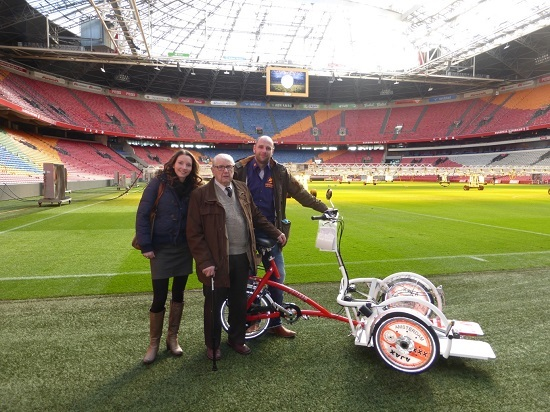 Ajax bike wheelchair