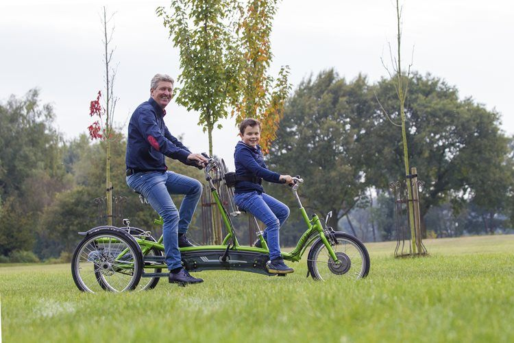 Tandem for youngsters and adults