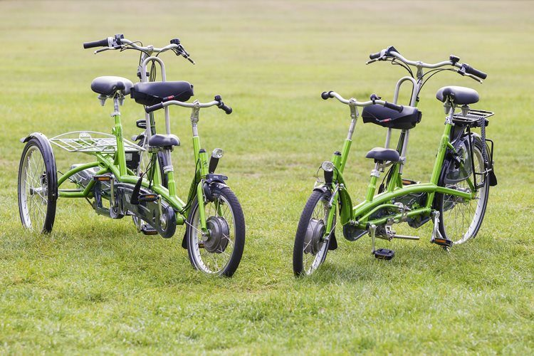 Tricycle tandem Kivo plus and Two-wheel tandem Kivo