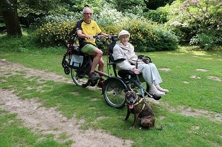 User experience wheelchair bike OPair - Jess Lee - On a holiday with a 98-year-old