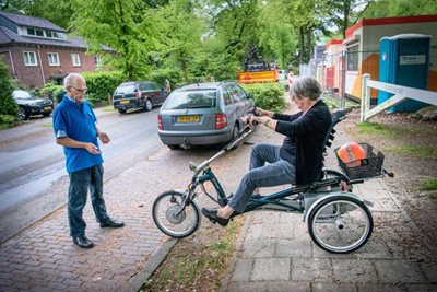 A course for your tricycle. Source: fietsersbond Corné Sparidaens