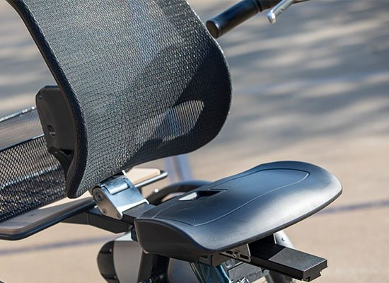 Van Raam Easy Rider tricycle backrest support
