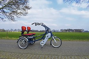 Fun2Go side by side tandem for people with one arm