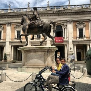 aspasso bike impressions rome Fun2Go duo bike