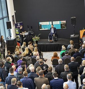 Speech mayor Oude-IJsselstreek new bicycle factory Van Raam